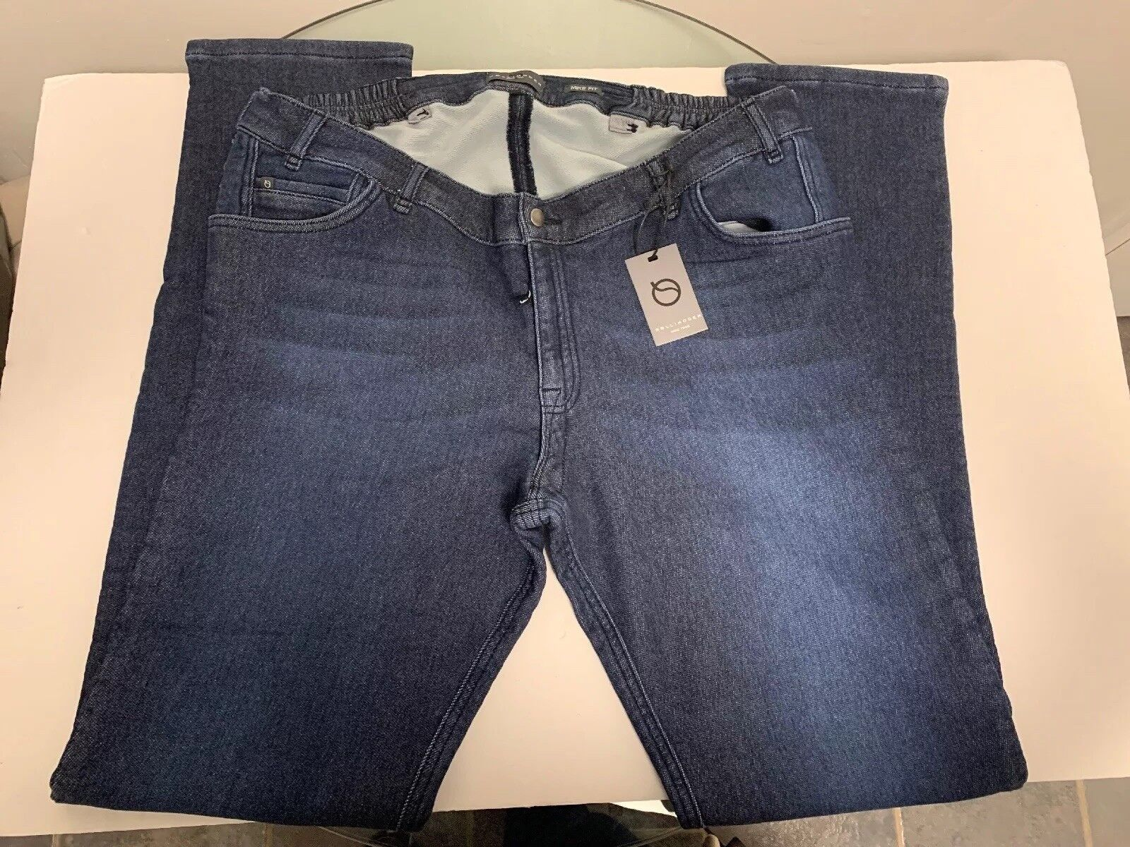 Rollimoden Jogg bluee Mike Jeans 58 X 38 Big & Tall NWT