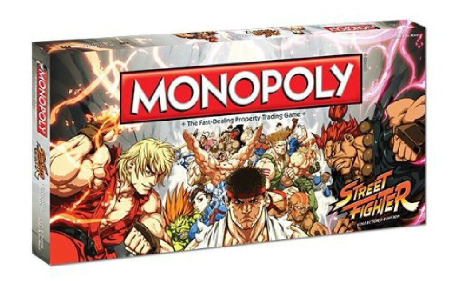 Monopoly STREET FIGHTER Game by USAopoly NEW