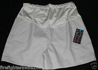 Women's Labor Of Love Maternity Shorts Beige Lt Khaki Size Large
