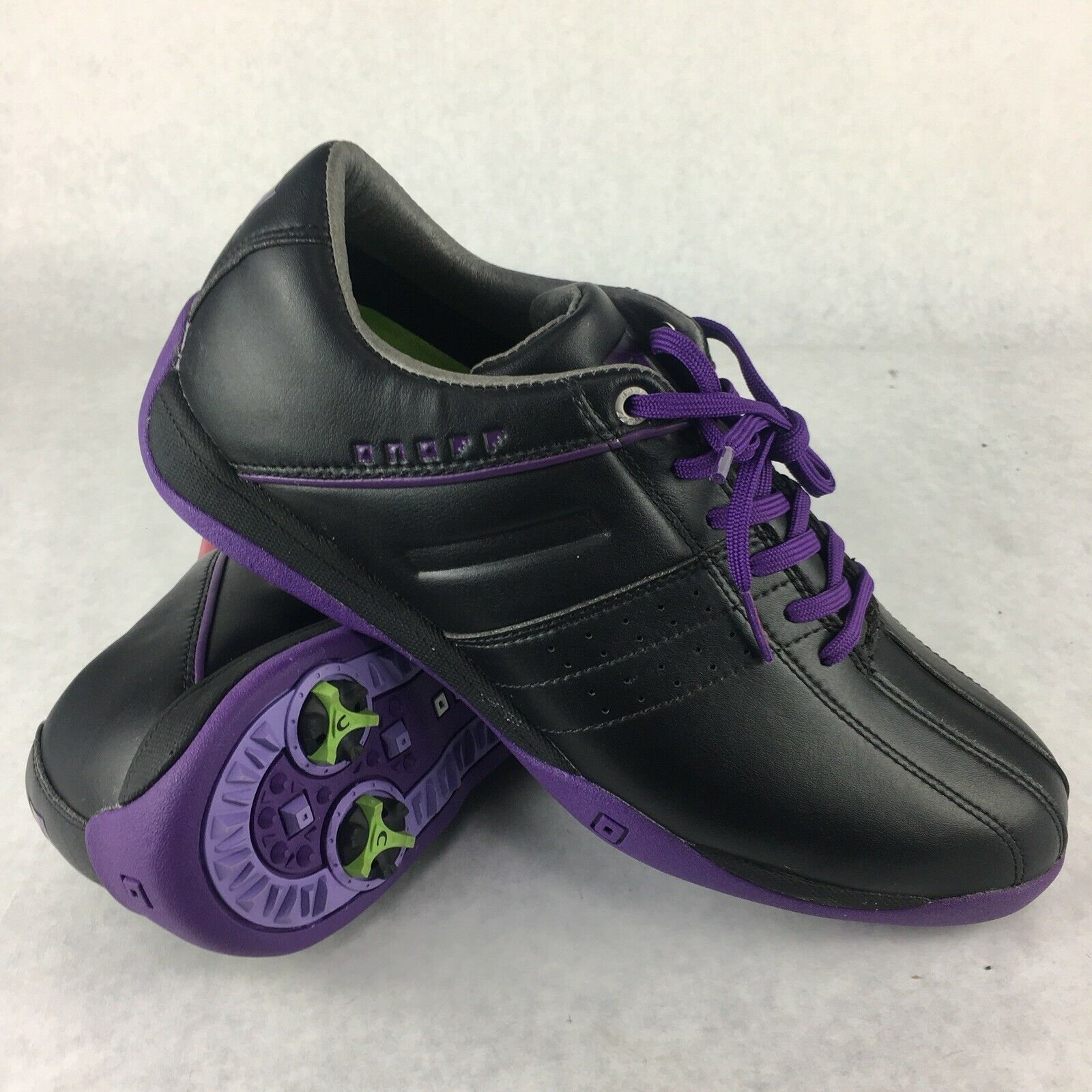 Onoff Zapatos De oro Modelo OS7114  Negro Púrpura Talla 24.5 EE. UU. Talla 8  Ahorre hasta un 70% de descuento.