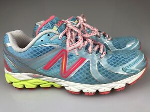 Details about New Balance Womens 870 V3 Mesh Revlite Pink Running Cross Training Shoes 6.5 B