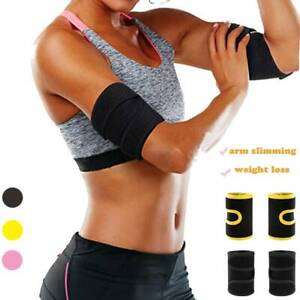 Women Weight Loss Compression Body Wraps Neoprene Arm Trimmers Sauna Sweat Bands