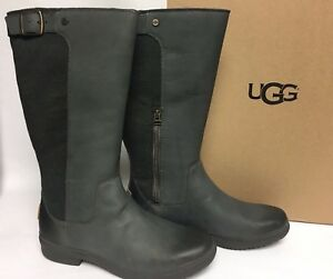 dd6c5f281a5 Details about UGG Australia Women's Janina Waterproof Rain Knee High Boot  1017387 Slate sizes