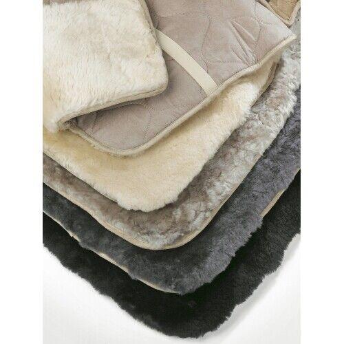 Sheepskin Car Seat Covers Black. Natural, or Grey.