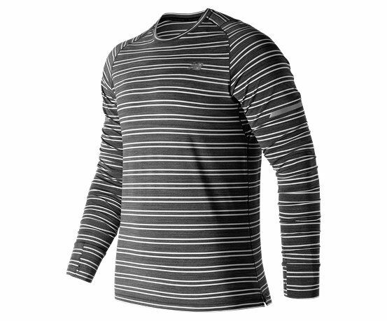 New Balance Seasonless Long Sleeve Run Top Größe S