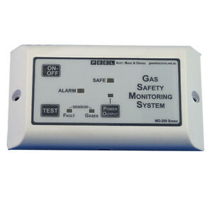 Gas-detector-LPG-Propane-gas-shut-off-Single-sensor-Marine-Boat-Auto-RV