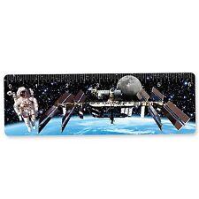 Ruler Bookmark Astronaut Space Station Earth  6 Inch 3D Lenticular #RU06-405#