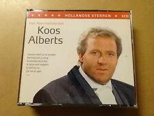 3 CD BOX / KOOS ALBERTS: HET ALLERMOOISTE VAN