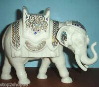 Lenox China Jewels Nativity Elephant Figurine Christmas In Box