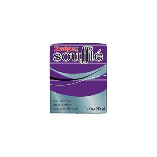 Pâte Sculpey Soufflé Grape n°6002 48gr Neuf