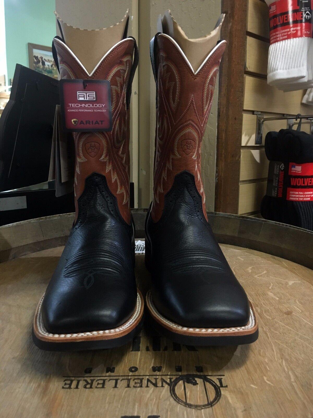 botas para hombre Ariat Quickdraw occidental (nuevo)