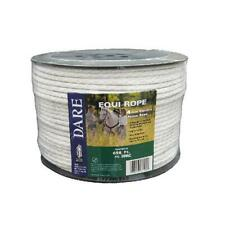 Electric Fence Rope White Polyethylene With Stainless Steel Wire 564 In X 6