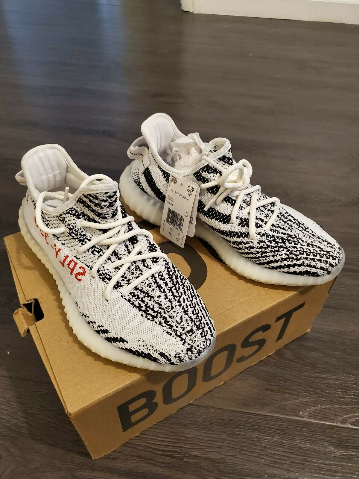 Adidas Mens Yeezy Boost 350 V2 shoes CP9654  size 6.5