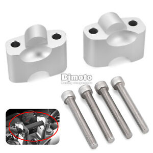 CNC-Handlebar-Risers-Mount-Clamp-38mm-For-DUCATI-696-796-795-1100