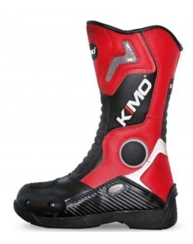 Moto-Cross Moto-Cross Moto-Cross Stiefel Motocross Kinderstiefel Crossstiefel KIMO Stiefel rot 49d50b