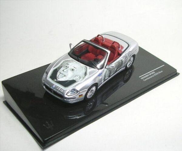Maserati Spyder (A. (A. (A. Einstein) Cambiocorsa 2002 (silver) f8ddbb