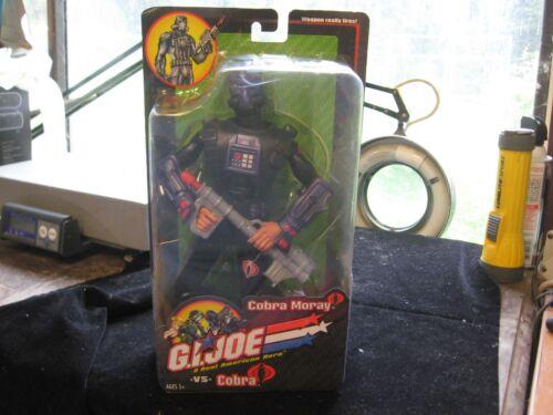 "Cobra Moray ACTION FIGURE NEW IN BOX 2002 Hasbro 12/"" GI Joe vs"