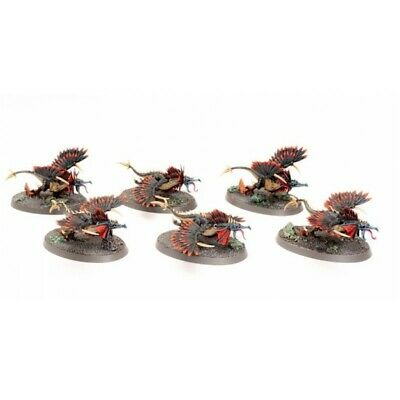 Warcry RAPTORYX Squad 6 x Models Age of Sigmar Unpainted /& Unassembled Chaotic