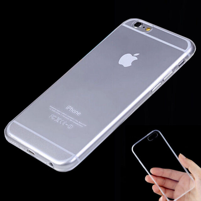 For iPhone 5 5S SE 6 6S 7 Plus Samsung 0.3mm Ultrathin Clear Soft TPU Case Cover