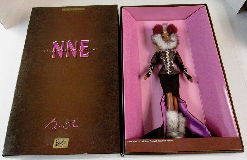 Nne Muñeca Barbie (tesoros de África) (limited Edition) (Nuevo)