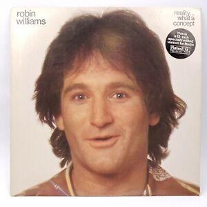 Robin-Williams-Reality-What-A-Concept-LP-Rare-Radio-Edit-Version-NM-NM