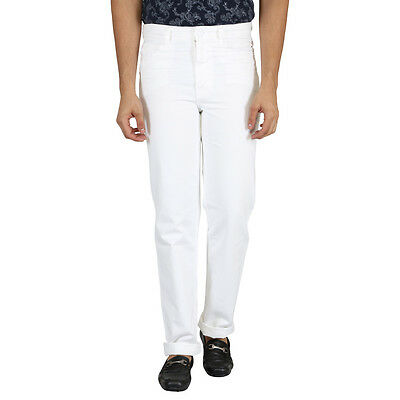 KILLER White Solid Slim Fit Men's Jeans - 571100 C/F WT