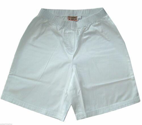 bonprix sport  Shorts  Schlupfhose kurz   Gr 36 38  S  weiß braun Baumwolle neu