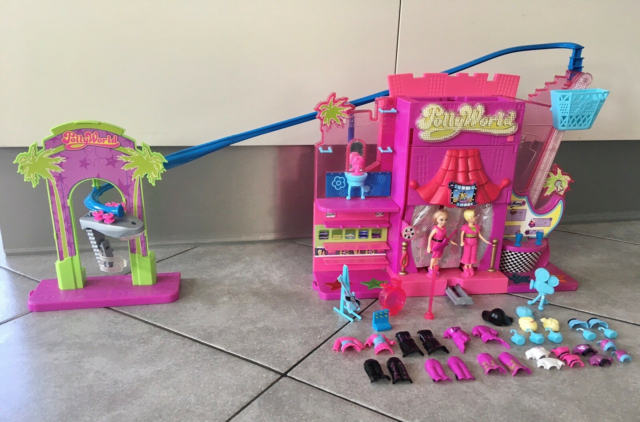 Polly Pocket, Polly world rock star scene, Scene med lyd,…