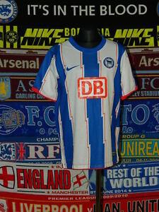 b9b16b7e6b8 5 5 Hertha Berlin boys 12 13 yrs 152 158cm MINT football shirt ...