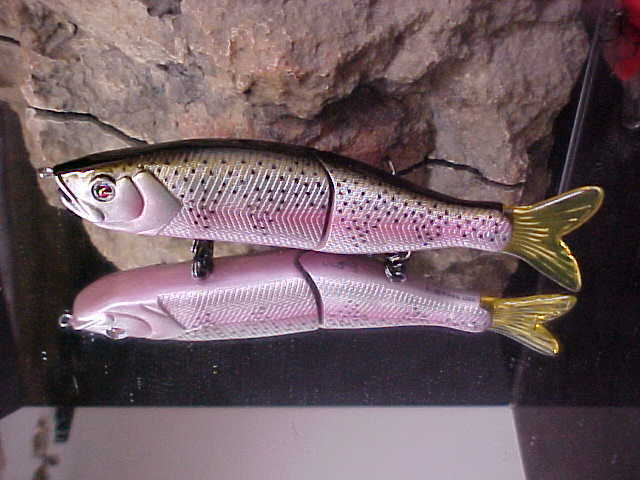 """Pike//Muskie River2Sea 6 3//4/"""" 1 5//8oz S-WAVER SW168S//11 Swimbait Lure for BassN"""