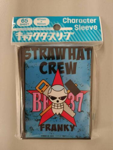 One Piece Jolly Roger Franky Card Sleeve Ensky Weiss Schwarz Dragon