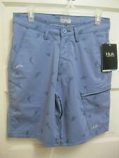Choose Size Blue HUK Fishing KC Scott Lines Hybrid Lite Board Shorts NEW!