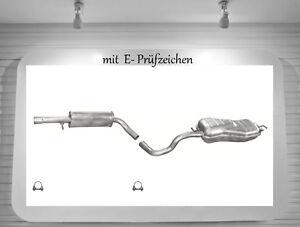 Schelle 96-03 Mittelschalldämpfer Auspuff Mitteltopf Audi A3 1.8 92KW  Bj