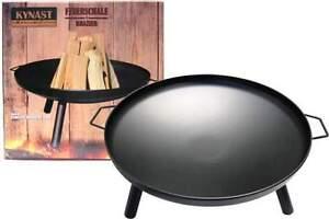 feuerschale kynast 60cm feuerstelle garten terrasse kamin feuer lagerfeuer eisen ebay. Black Bedroom Furniture Sets. Home Design Ideas