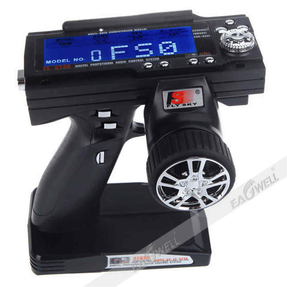 Flysky Fs Gt3b Boat Controller Gun Transmitter Without Receiver 12v