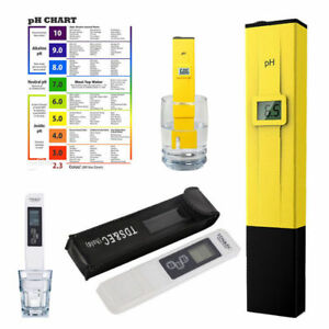 Details about LCD Digital TDS-3 EC Water PH Pen Meter Tester temperature  Monitor Tool ppm New