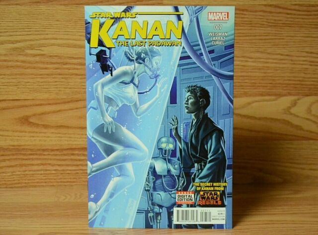 STAR WARS Kanan The Last Padawan #7 December 2015 REBELS 1st Print MARVEL