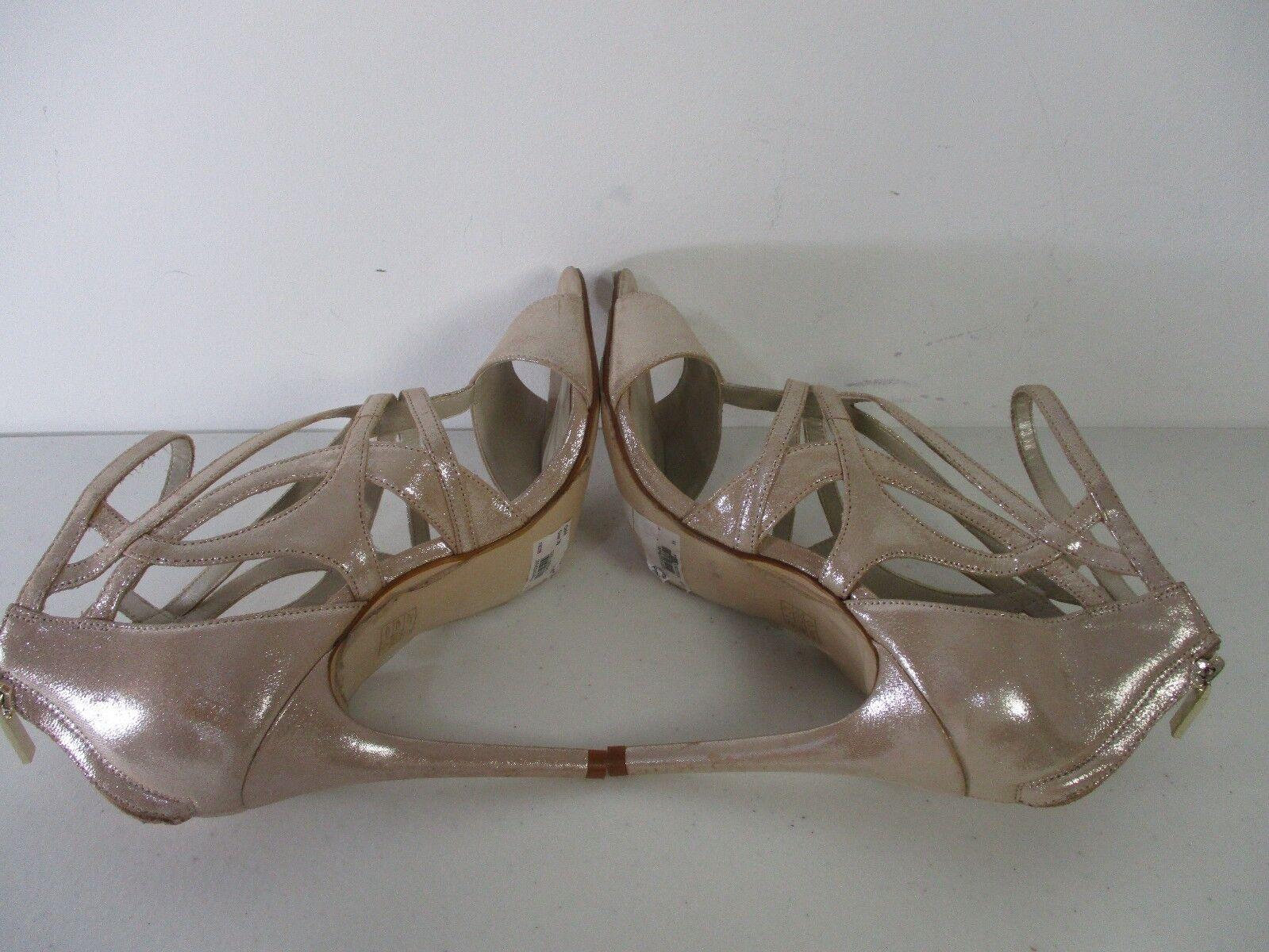 Karen Millen Donna Metallizzato Perlato Sandalo in pelle   pelle  TG 38 225 58307d