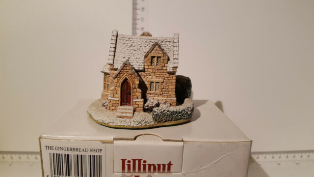 (Lot 278) Lilliput Lane ~ Christmas Collection ~ Gingerbread Shop