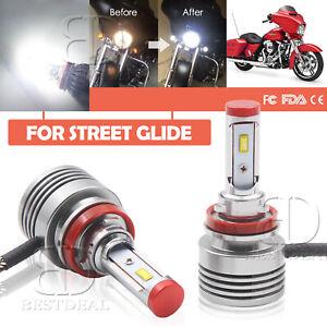 H8 H9 H11 LED For Harley Special FLHXS Street Glide 2014-2017 Headlight Bulbs