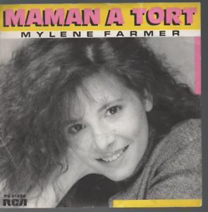Mylene-Farmer-Maman-A-Tort-45T-7-034-Inch-45-Tours