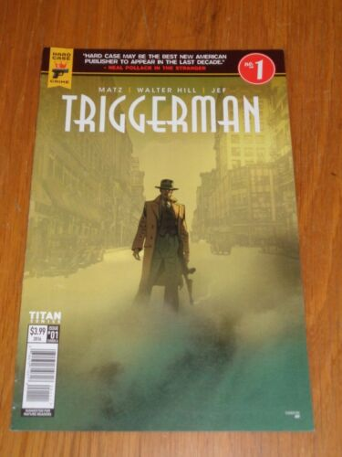 TRIGGERMAN #1 TITAN COMICS COVER A OCTOBER 2016
