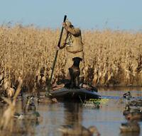 Avery Greenhead Gear Ghg Trac-loc Boat Pirogue Push Pole Duck Bill Fishing