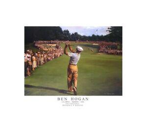 Ben-Hogan-US-Open-1950-Artist-Michael-Heslop-Limited-edition-giclee-print