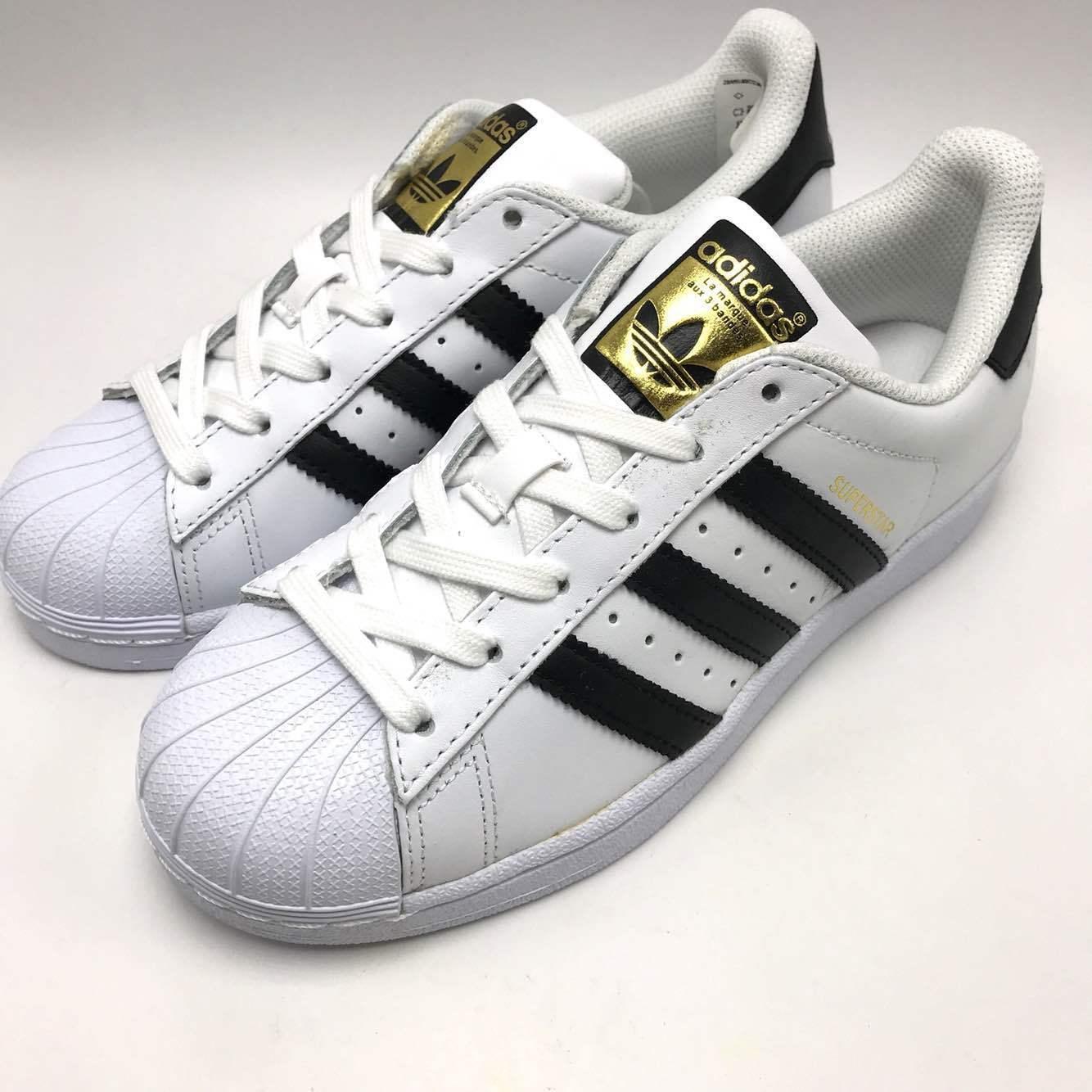 3c8f6788 Women's adidas Original's Superstar Shoe C77153 White Size 7.5 for ...