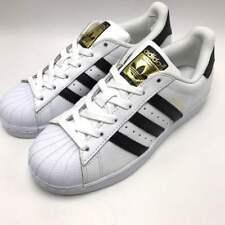 8b6f674022c0 adidas Womens Originals Superstar White Black Gold C77153 Size 9 for ...