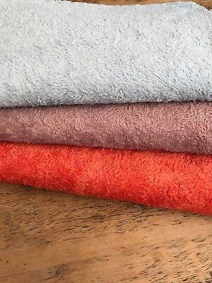 1/8 Metri Stile Antico Viscosa, Mano Tinto In Orangy Rosso (in Basso Uno)-mostra Il Titolo Originale Alta Qualità
