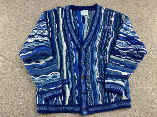 Cuggi Sweater Blue Cardigan Biggie Smalls Notoriou