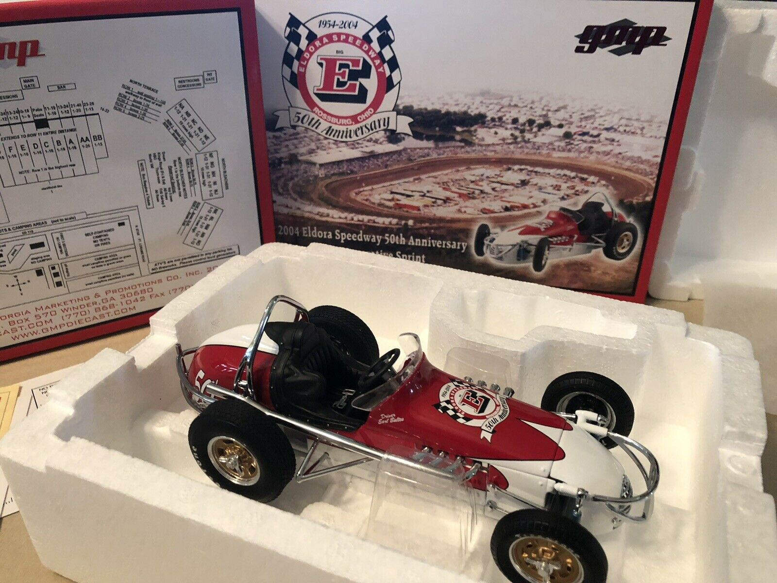 GMP 2004 Eldora Speedway 50th Anniversary Commemorative Sprint 1 18 Scale