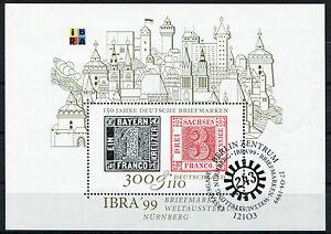 Bund-Block-46-gestempelt-ETST-Berlin-BRD-2041-IBRA-Muenchen-1999-used